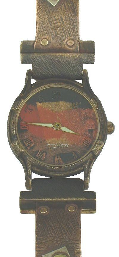 Small Minstrel - WatchCraft (R) Handmade Watch (SLCSB)