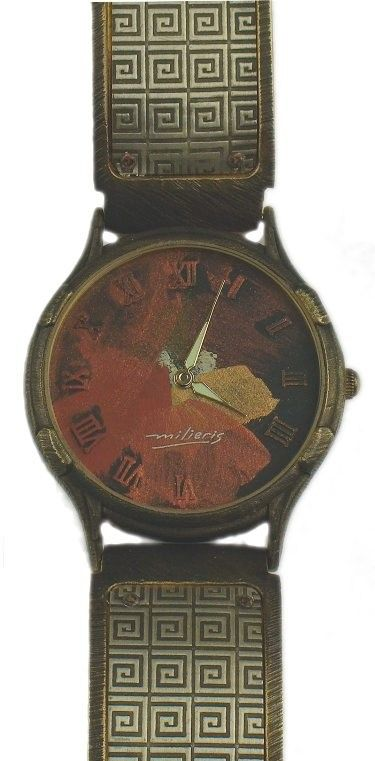 Large Minstrel - WatchCraft (R) Handmade Watch (LG3) - DISCONTINUED