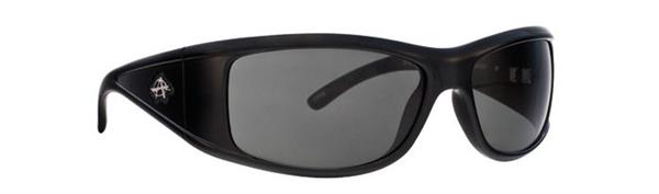Anarchy Sunglasses - Substitute Shiny Black - Polarized - DISCONTINUED