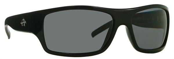 Anarchy Sunglasses - The Syntax Shiny Black - Polarized - DISCONTINUED