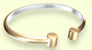 T153 Gold  Bracelet (T31024) - DISCONTINUED