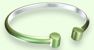 T153 Green  Bracelet (T31034) - DISCONTINUED