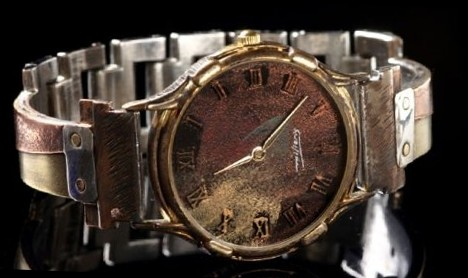 Large Minstrel - WatchCraft (R) Handmade Watch (TORRES21N) - DISCONTINUED