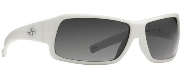 Anarchy Sunglasses - Transfer White - Polarized - DISCONTINUED