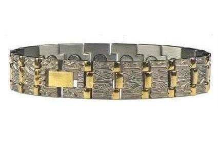 CEO's Choice - Pure Titanium Magnetic Therapy Bracelet (TT-77)