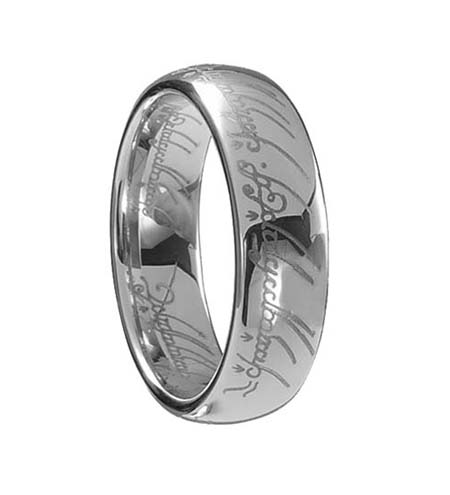 Lord of the Rings Style Tungsten Ring (TUR-174) - DISCONTINUED