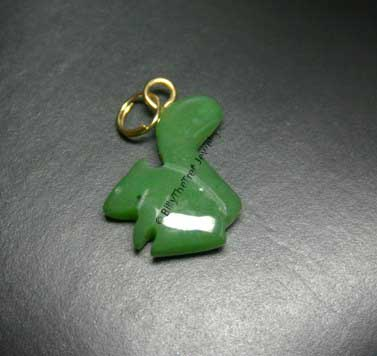 Jade Squirrel Charm (UJKK-0472)