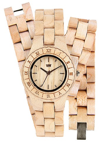 WeWood Wooden Watch - Ladies Venus Beige Watch/Bracelet Combo - DISCONTINUED