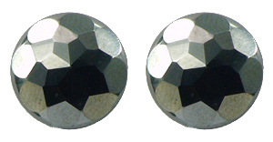 Hematite Diamond Cut - Magnetic Therapy Earrings (FRSL)