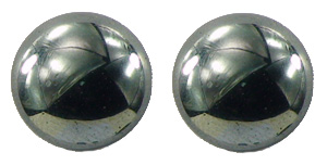Solid Hematite - Magnetic Therapy Earrings (PRSL)