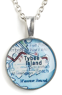 Custom Map Jewelry By CHART Metalworks On Sale - Us metalworks map