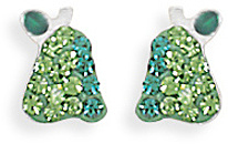 Crystal Pear Earrings 925 Sterling Silver - DISCONTINUED