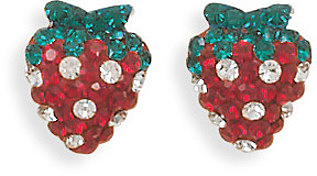Strawberry Earrings 925 Sterling Silver