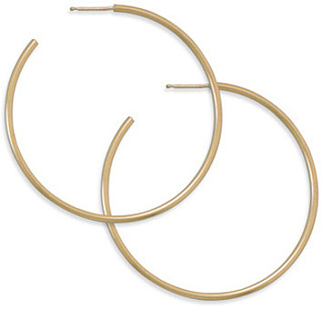 "14/20 Gold Filled 1.5mm (0.06"") x 49mm 3/4 Hoops"