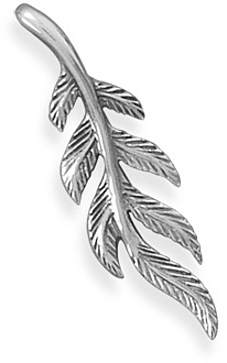 Oxidized Vine Slide 925 Sterling Silver - DISCONTINUED