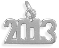2013 Charm 925 Sterling Silver
