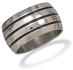 Stainless Steel Men's Ring