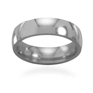 "5mm (1/5"") stainless steel polished band - DISCONTINUED"