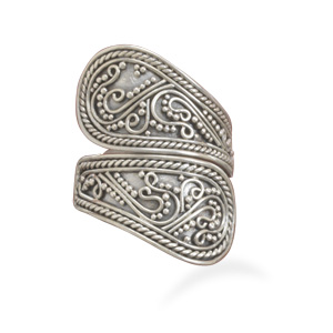Bali Spoon Ring 925 Sterling Silver - DISCONTINUED