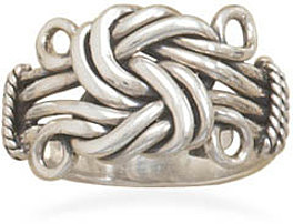 Love Knot Ring 925 Sterling Silver