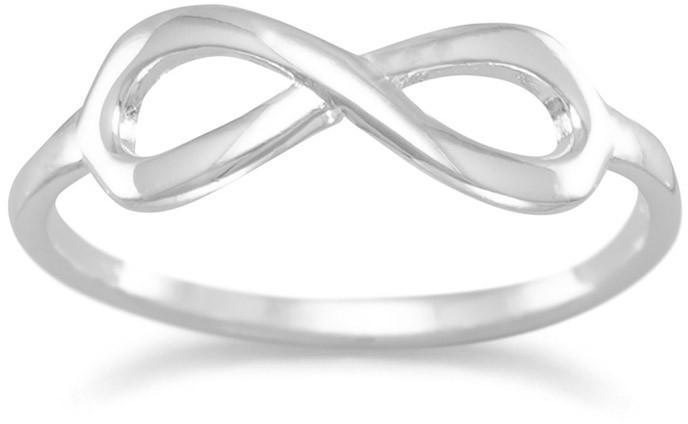 Polished Infinity Ring 925 Sterling Silver - DISCONTINUED