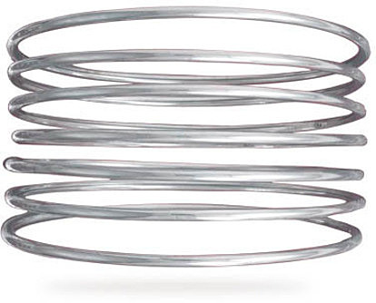 "7 8"" Round Bangles 925 Sterling Silver"