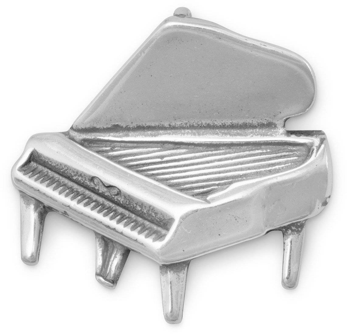 Piano Slide 925 Sterling Silver
