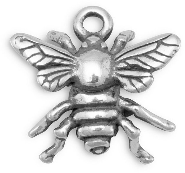 Bee Charm 925 Sterling Silver