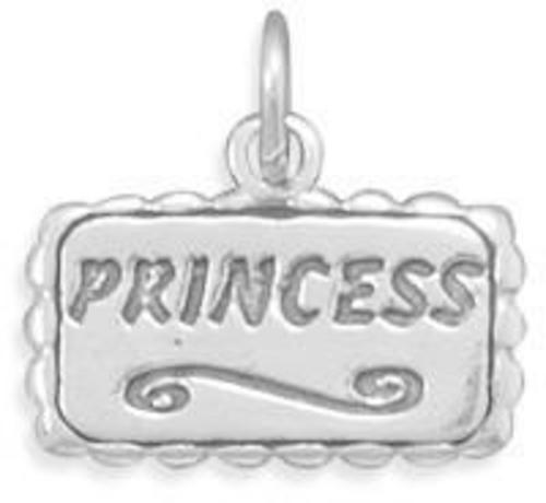 Princess Charm 925 Sterling Silver