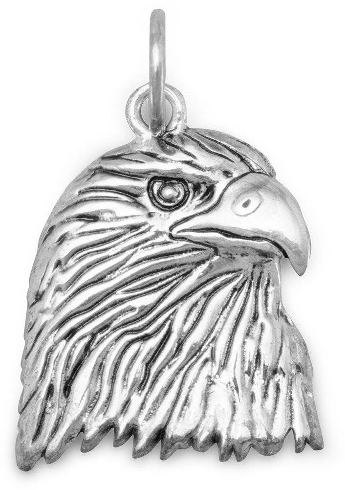 Eagle Strength and Courage Pendant 925 Sterling Silver