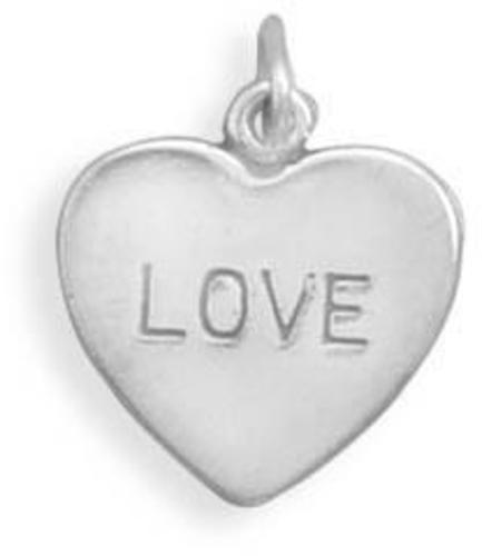 LOVE Charm 925 Sterling Silver