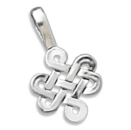 (C) Celtic Charm 925 Sterling Silver
