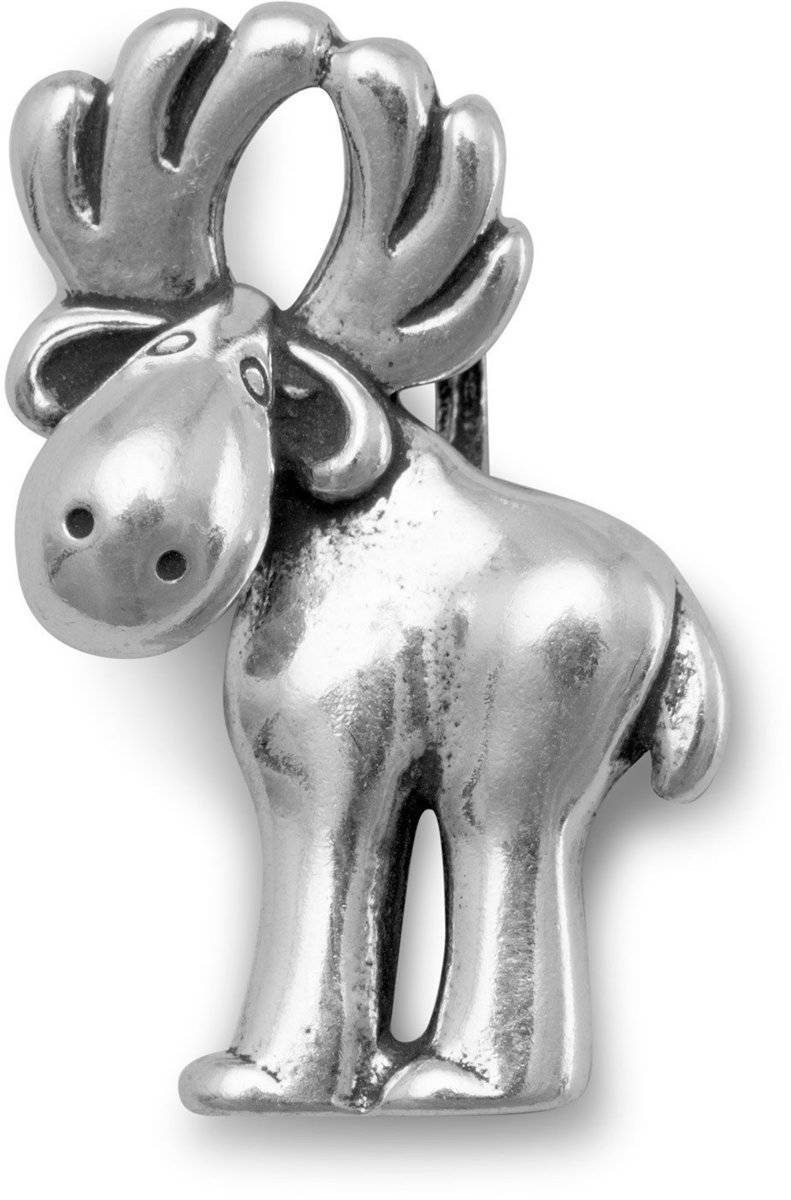 Moose Slide 925 Sterling Silver