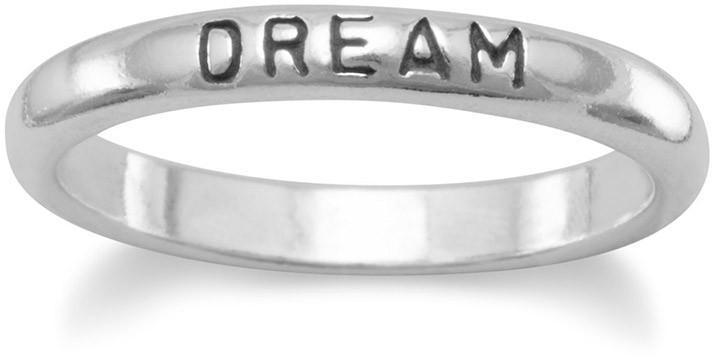 "Oxidized ""Dream"" Ring 925 Sterling Silver"