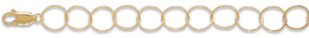 "7"" 14/20 Gold Filled Twist Link Bracelet"