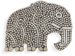 Elephant Pin 925 Sterling Silver - DISCONTINUED