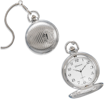 Engraveable Men's Fashion Pocket Watch