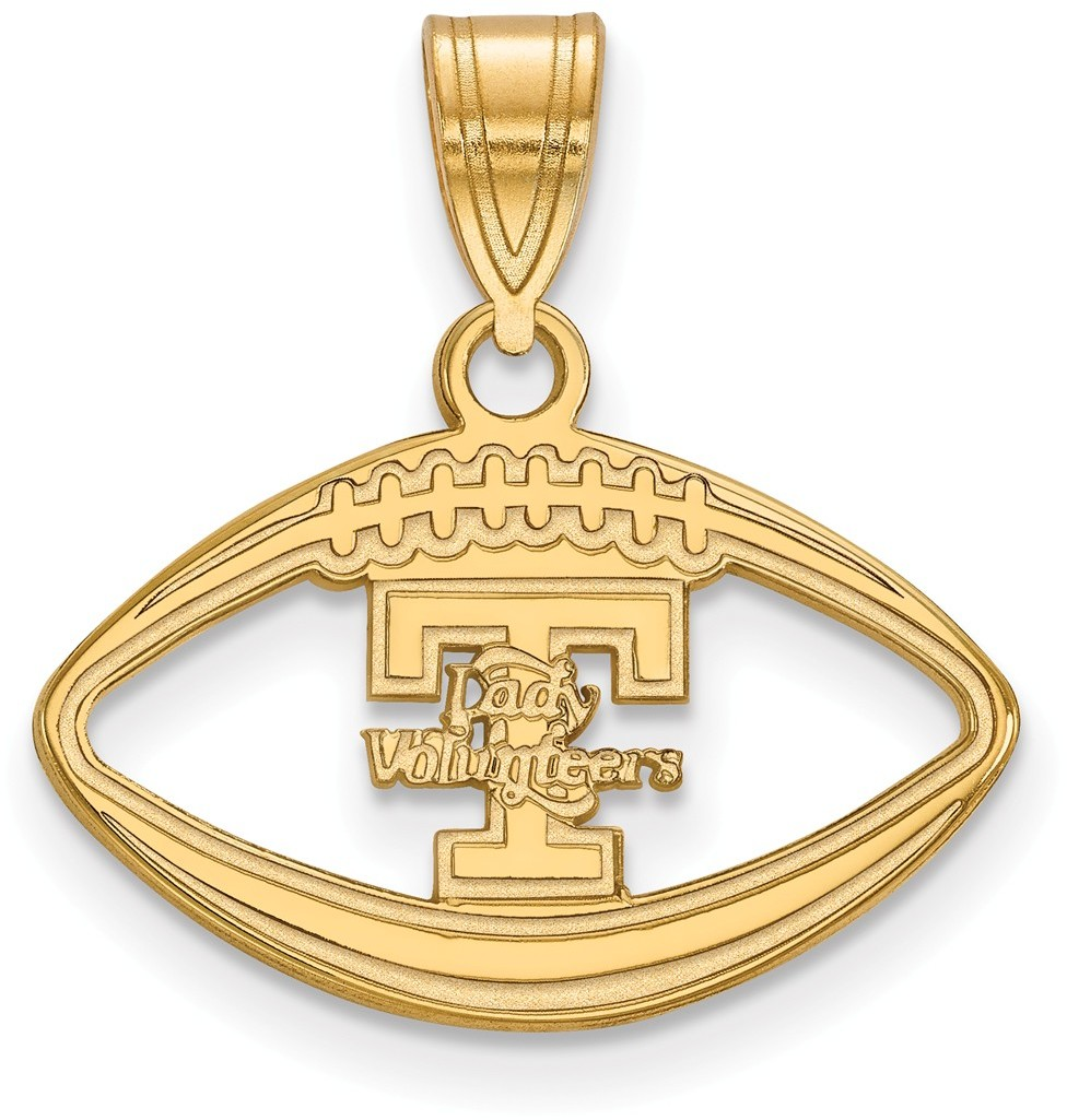 Gold plated 925 silver university of tennessee pendant for Is gold plated jewelry worth anything