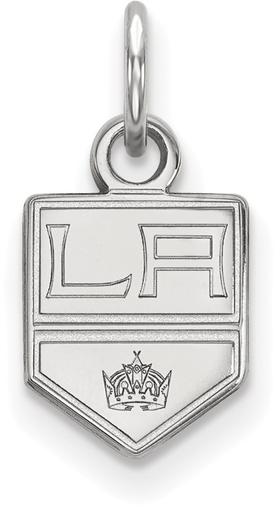 Sterling Silver NHL Los Angeles Kings X-Small Pendant by LogoArt