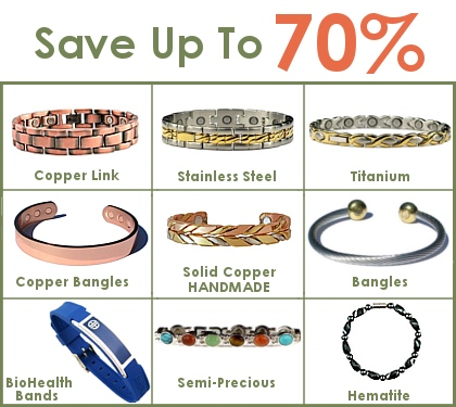 Magnetic Bracelets At BillyTheTree.com. Shop and save!