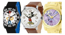 Disney officially licensed watches