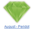 Peridot birthstone jewelry at BillyTheTree Jewelry