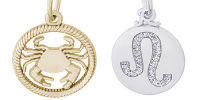 Zodiac Engravable Charms