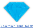 Blue topaz birthstone jewelry at BillyTheTree Jewelry