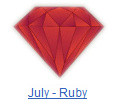 Ruby birthstone jewelry at BillyTheTree Jewelry