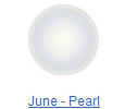Pearl birthstone jewelry at BillyTheTree Jewelry