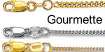 Gourmette chains