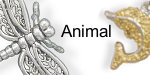 Animal 925 sterling silver charms