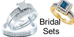 Bridal set diamond rings