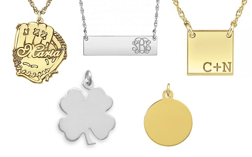 Engravable and Personalized Pendants